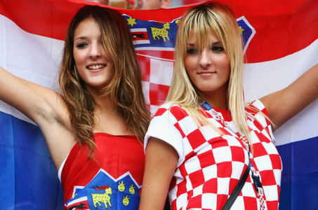 croatian sexy fan girls