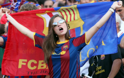 barcelona fan girl