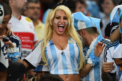 argentina fan girl