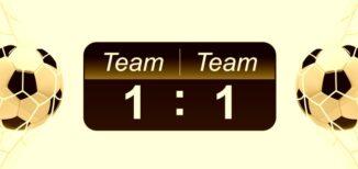soccer score result